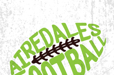 Airedale football,Airedale logo,Airedale  vector,Airedale  mascot,