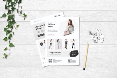 Minimal Fashion Flyer Vol. 02