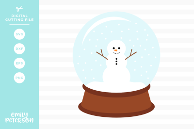 Snow Globe SVG DXF
