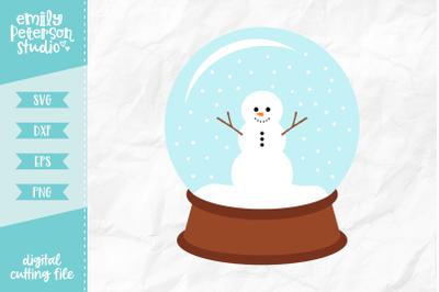 Snow Globe SVG DXF