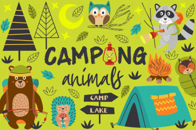 camping with animals