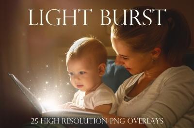 Light Burst Overlay