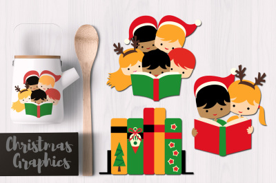 Christmas Reading Graphics