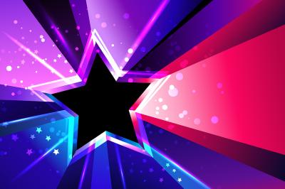 Tricolor Star