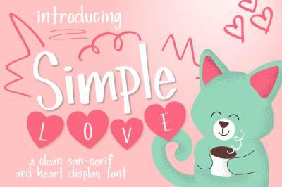 Simple Love Font