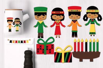 Kwanzaa Kids Graphics
