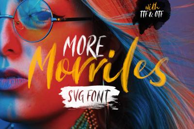 Morriles - SVG Font