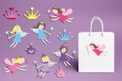 Flying Fairy Girls