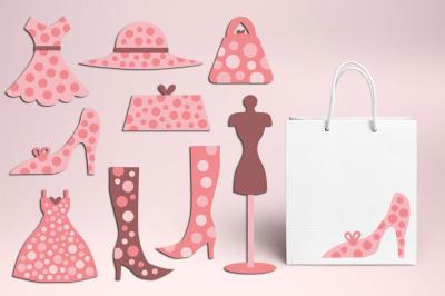 Fashion Boutique Polka Dot