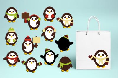 Winter Penguins