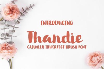 Thandie Script Font