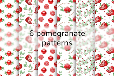 Pomegranate Patterns