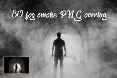 80 smoke fog Photo Overlays in PNG, Photography