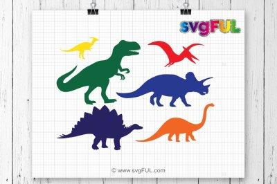 SVG, Dinosaur Svg, T-Rex Svg, Dinosaurs Clipart, Svg Files, Cricut