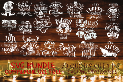 Christmas SVG Bundle Merry Christmas bundle vol 2