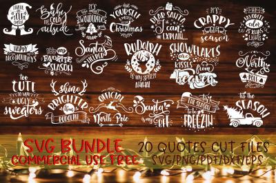 Christmas SVG Bundle Merry Christmas bundle vol 2