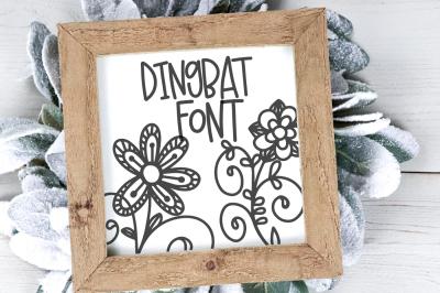 Doodle Bug - A Dingbat Font
