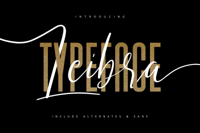 Leibra Typeface