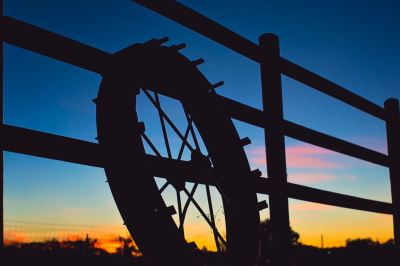 Porch Sunset