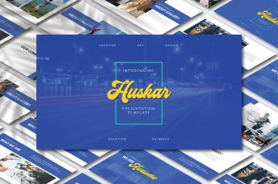 Huskar Keynote Template