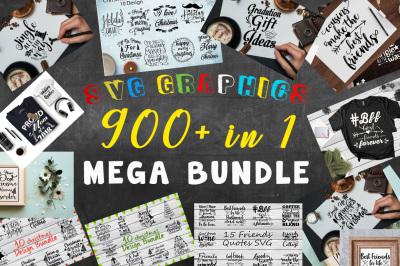 SVG Graphics Mega Bundle