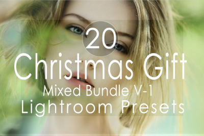 20 Christmas Gift Mixed Lightroom Presets(90% Discount for Christmas)