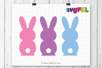 SVG, Bunny Clipart, Peep Svg, Easter Peeps, Svg, Dxf, Pdf, Silhouette