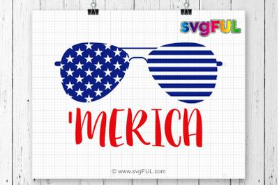 SVG, Merica Svg, Fourth of July Svg, 4th of July Svg, Patriotic Svg
