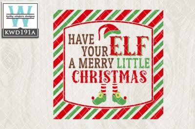 Christmas Cutting File KWD191a