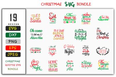 Christmas SVG Design Bundle