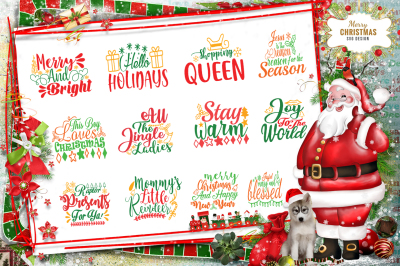13 Christmas SVG Bundle vol 4