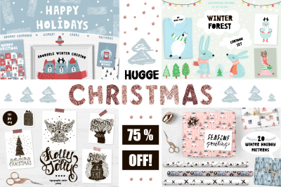 Hugge Christmas mega bundle