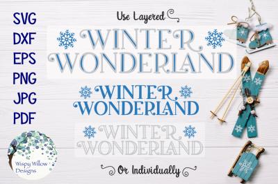 Winter Wonderland SVG
