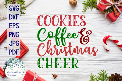 Cookies Coffee and Christmas Cheer