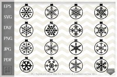 Christmas balls Svg - Christmas bulb svg - Christmas ornamet SVG
