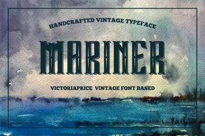 Mariner covered victoriaprice vintage font