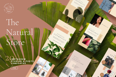 The Natural Store Instagram Stories & Posts
