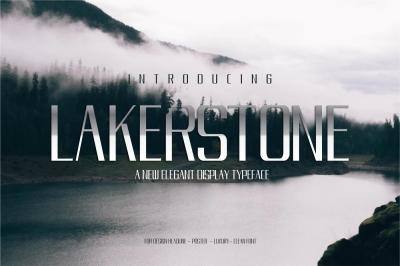 LAKESTONE - A LUXURY ELEGANT TYPEFACE
