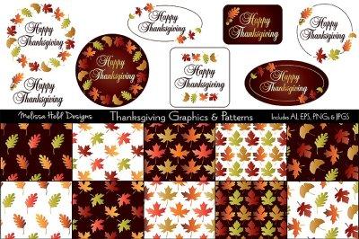 Thanksgiving Graphics & Patterns