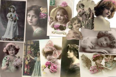 Vintage Photo Cards