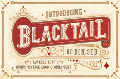 Blacktail Font
