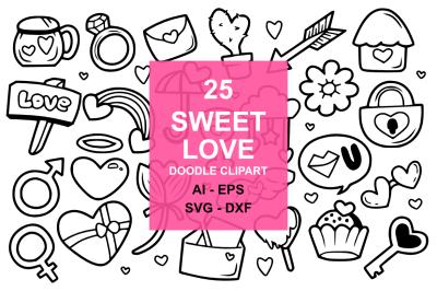 25 Sweet Love Doodles