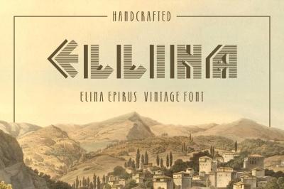 Elina Epirus font