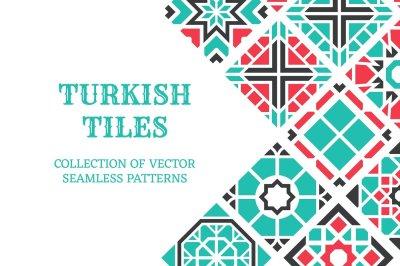 Turkish seamless tiles