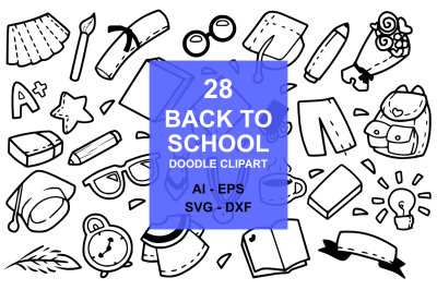 28 Back to School Doodles