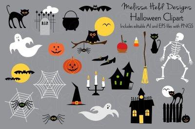 Halloween Clipart Graphics