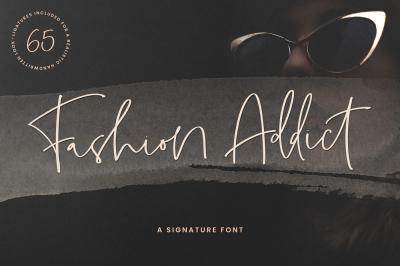 Fashion Addict Signature Font