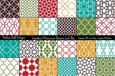 Seamless Moroccan Patterns