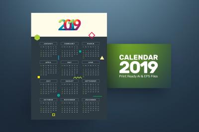 New Calendar 2019