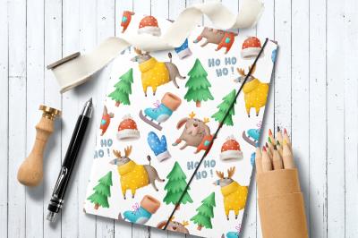 Beautiful Christmas pattern